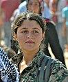Kurdish Female YPG Fighter (21085009696).jpg