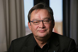 Kuupik Kleist, prime minister of Greenland Рус...
