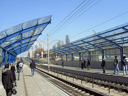 How to get to Героїв Севастополя with public transit - About the place