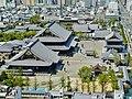 Kyoto Kyoto Tower Blick auf Higashi Hongan-ji 1.jpg