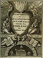 L'ame amante de son Dieu, représentée dans les emblemes de Hermannus Hugo, et dans ceux d'Othon Vaenius sur l'amour divin. Avec des figures nouvelles accompagnées de vers qui en font l'application aux (14563099517).jpg