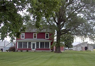 National Register of Historic Places listings in Sussex County, Delaware - Image: LR Walls Adams Farm 1