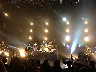 Luna Sea - Luna Sea performing in Singapore in February 2013.