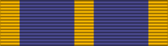Military Medal (Luxembourg) - Image: LUX Military Medal ribbon