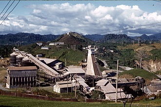 Siuna, Nicaragua - La Luz Gold Mine (ca. 1959) which fueled regional population growth.