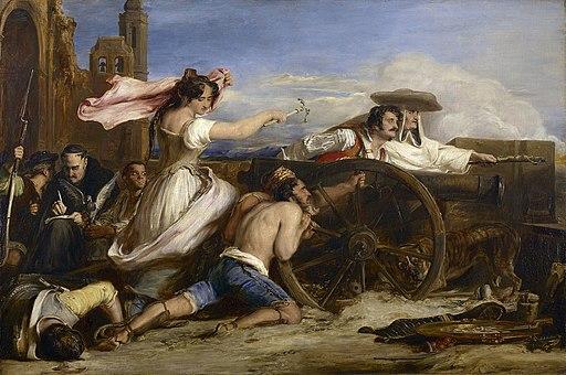 La defensa de Zaragoza, por David Wilkie
