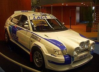 Раллийная заводская Lada 112 класса Super1600