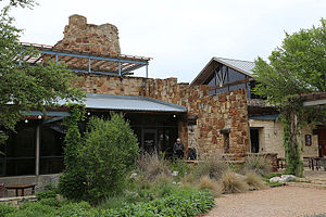 Lady Bird Johnson Wildflower Center - Lady Bird Johnson Wildflower Center Cafe and Tower
