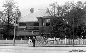 Lady Bowen Hospital - Lady Bowen Lying-in Hospital, circa 1912