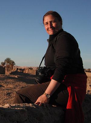 Marta Mirazón Lahr - Image: Lahr, old Germa, Fezzan, Libya, 2011