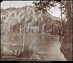 Lake Lucie, White Pine Fork Logan Canon, Utah U.P.Ry. C.R. Savage, Photo Salt Lake City..jpg