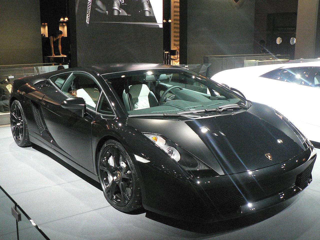 File Lamborghini Gallardo Nera 2 Jpg Wikimedia Commons