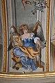 Lamporecchio, villa rospigliosi, interno, salone di apollo, con affreschi attr. a ludovico gemignani, 1680-90 ca., segni zodiacali, leone 02.jpg