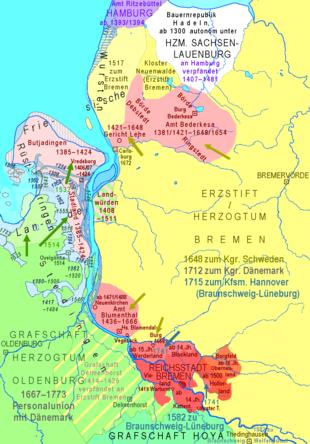 Frau Bremen, Stadtgemeinde