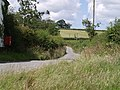 Lane at Lana - geograph.org.uk - 489382.jpg