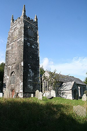 Laneast - St Sidwell's church.