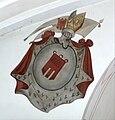 Langenargen Pfarrkirche Chorbogen Wappen Montfort.jpg