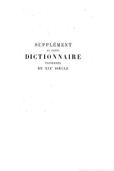 File:Larousse - Grand dictionnaire universel du XIXe siècle - Tome 16, part. 1, A-B.djvu