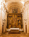 Lateral chapel in Saint Mary Church in Iria Flavia, Padrón, Galicia, Spain-002.jpg