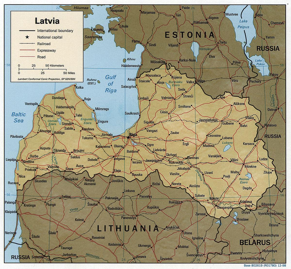 Geography of Latvia Wikipedia