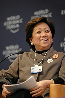 Laura M. Cha - World Economic Forum Annual Meeting Davos 2009.jpg