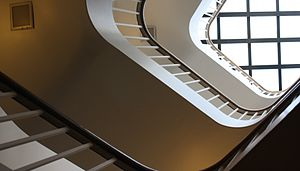 Leonard Davis Institute of Health Economics - Image: Ldi staircase