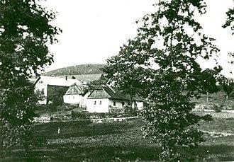 Ležáky - Ležáky before 1942