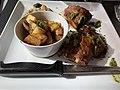 Le Canard pressé (restaurant) - Pluma de porc iberica mariné au piment de la Vera.jpg