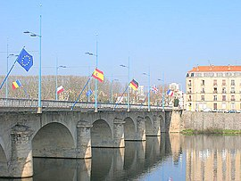 Bridge over the Loire, Roanne