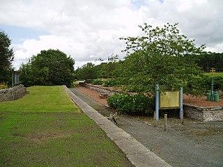 Leadburn railway station