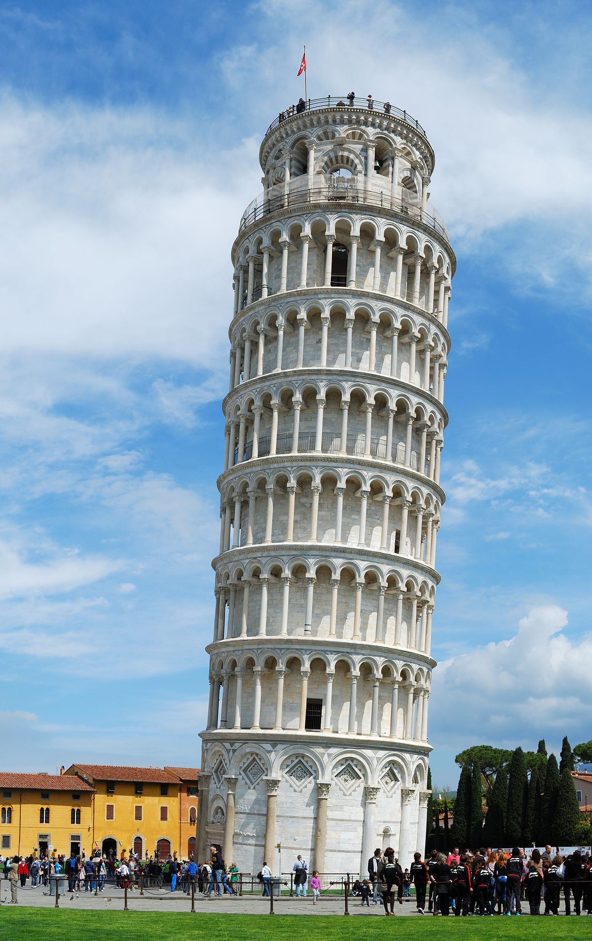 Leaning tower of pisa simple english wikipedia the free encyclopedia - Lego architecture tour de pise ...