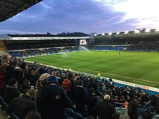 Elland Road Football stadium in Leeds, West Yorkshire, England