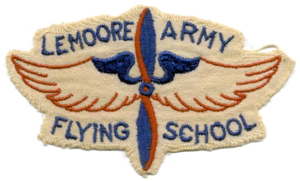 Lemoore Army Air Field - Patch from Lemoore AAF Flying School