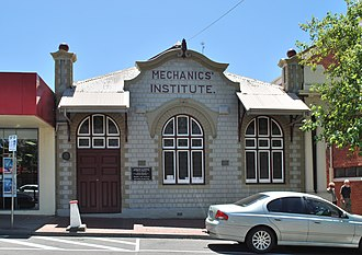Leongatha - Image: Leongatha Mechanics Institute