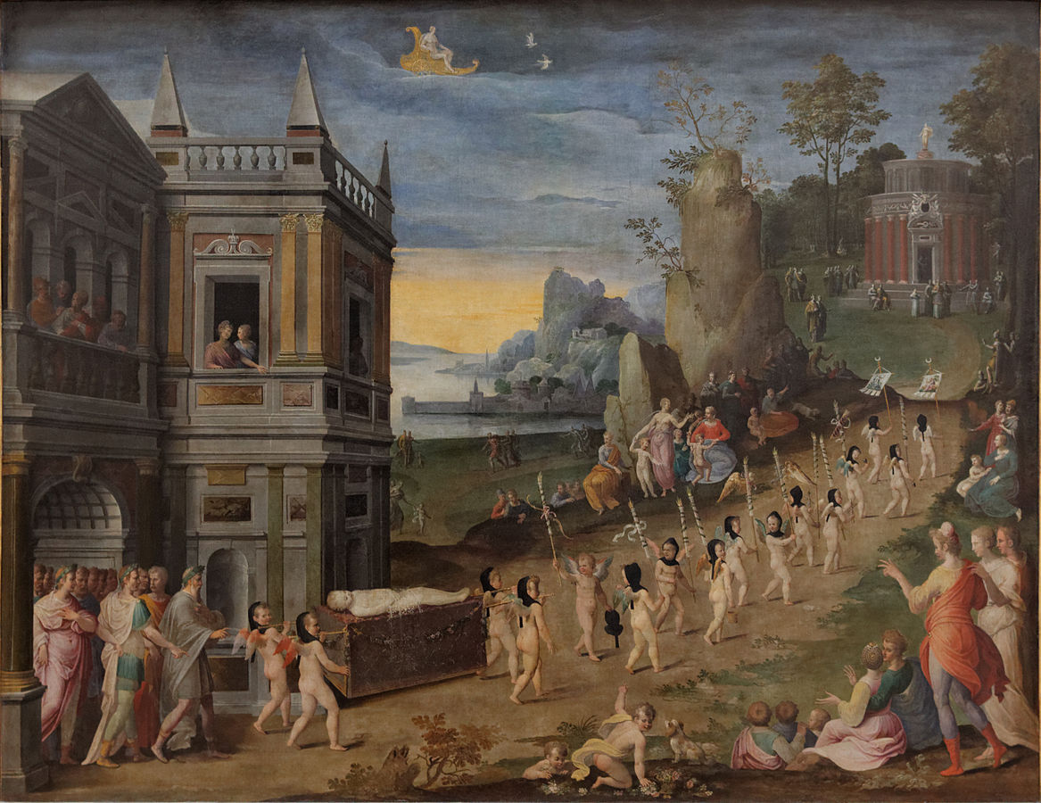 The Funeral Procession of Love