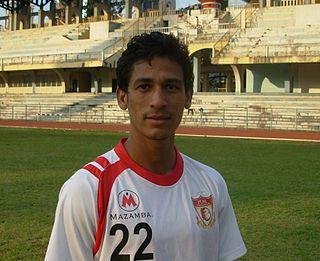 Lester Fernandez Indian professional footballer