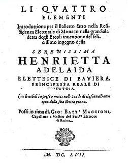Giovanni Battista Maccioni Italian composer and librettist