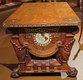 Library table from the William H. Vanderbilt House, Herter Brothers.JPG