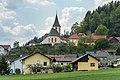 Liebenfels Pulst Kirchplatz 5 Pfarrkirche Mariä Himmelfahrt und Karner O-Ansicht 27042020 7462.jpg