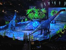 File:Lifesize Dinosaurs Part of $20 Million Theatrical Show.ogv