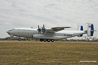 Antonov An-22 - Side profile