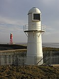Lighthouse near Paull - geograph.org.uk - 274358.jpg