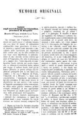 Luigi Tatti: Notizie sugli scavi di lignite in Valgandino, provincia di Bergamo. Memoria dell'ing. architetto Luigi Tatti