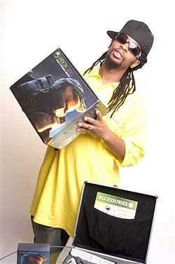 Lil Jon with Xbox 360.jpg