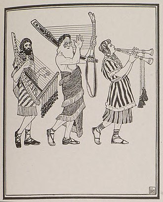 Psalm 34 - Psalm 34, by Ephraim Moses Lilien.