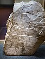 Limestone chip with sketches for a painting or relief from Egypt - Firenze MAN 7618 - 02.jpg