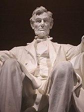 Lincoln Memorial statue, 2012.JPG