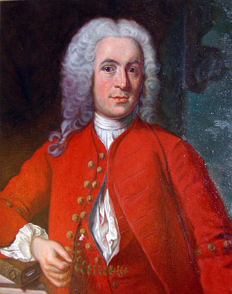 Carl Linnaeus - Wedding portrait