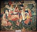 Lione (attr.), arazzo con il trionfo dell'eternità, 1512-15 ca.jpg