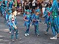 Little samba girls from União da Roseira at Helsinki Samba Carnaval 2019.jpg